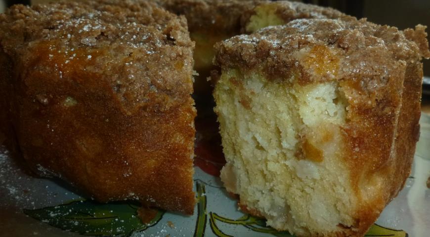 Рецепт Голландский яблочный кекс