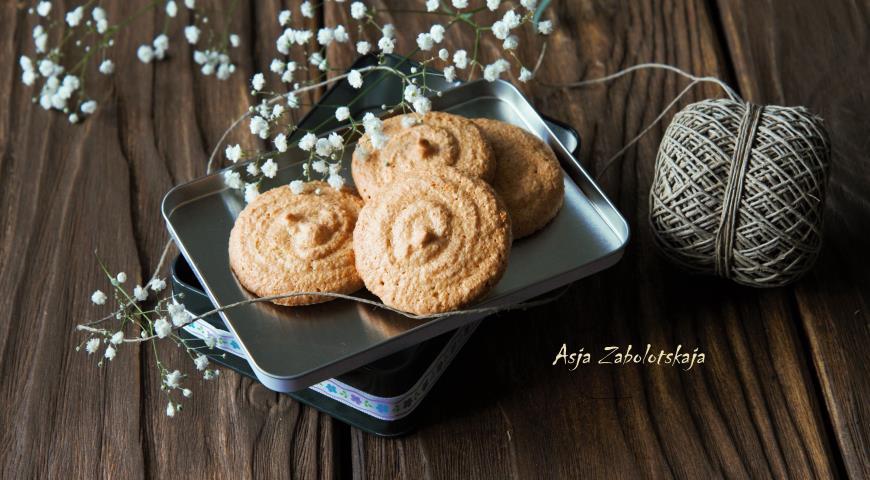 Миндальное печенье рецепт с фото пошагово