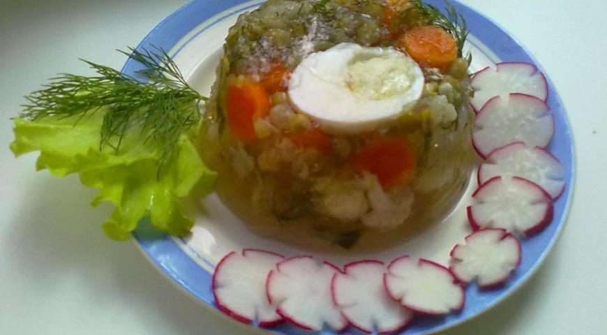 Рецепт Овощной Студень