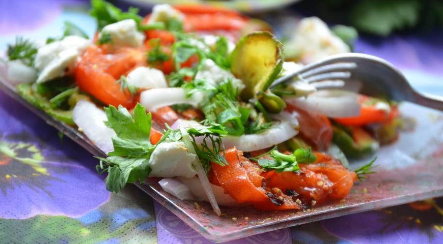 Салат с запеченными овощами рекомендации