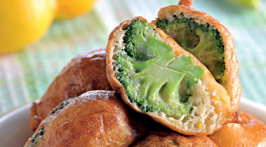 Рецепт Пончики из брокколи