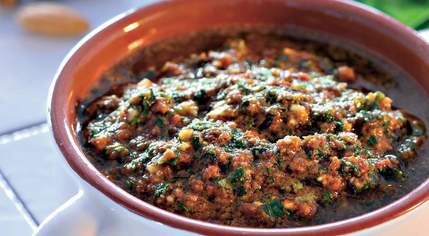 Рецепт Песто из вяленых помидоров