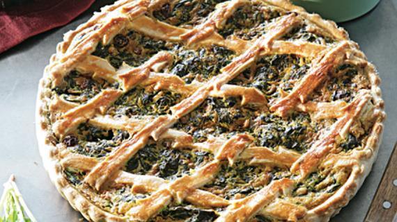 Пирог с одуванчиками
