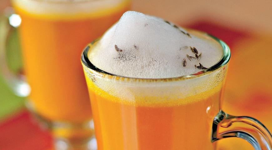 Рецепт Капучино из моркови и сельдерея