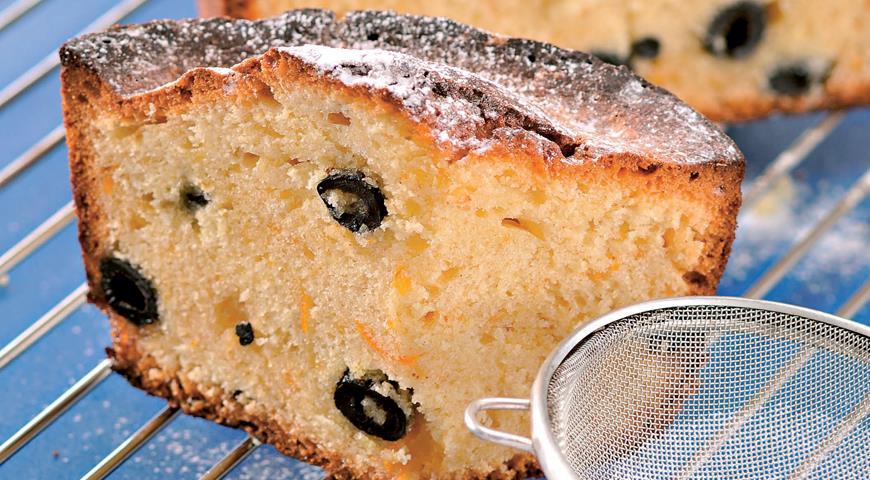 Рецепт Пирог с засахаренными маслинами
