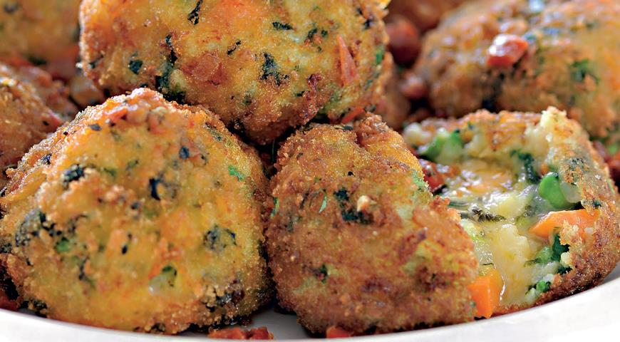 Рецепт Шарики из картофеля с томатным соусом
