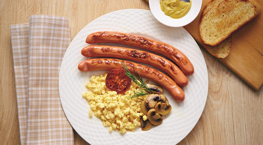 Рецепт Легкий английский завтрак