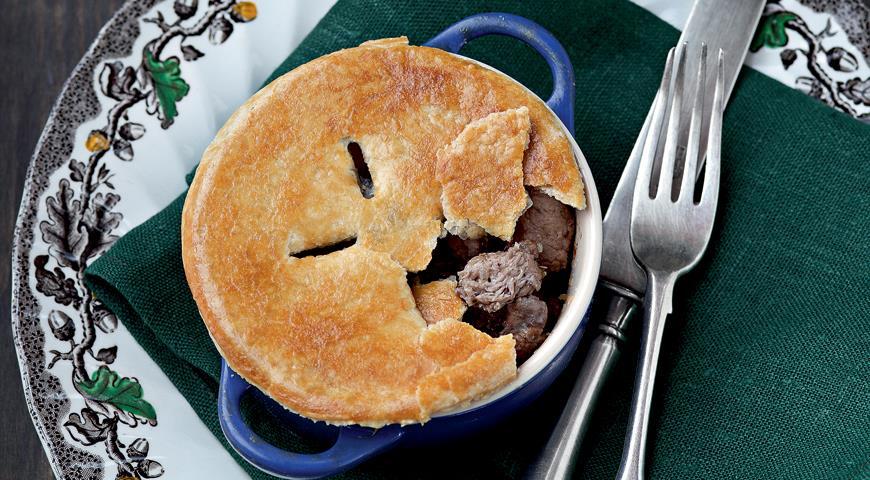 Рецепт Английские пироги с цесаркой и потрошками
