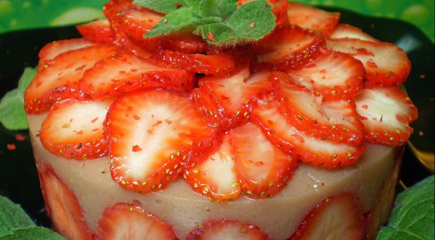 Рецепт Клубнично-банановое желе на агаре