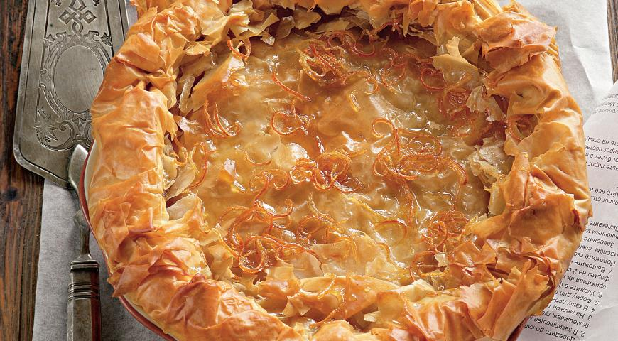 Рецепт Галактобуреко - сладкий молочный пирог