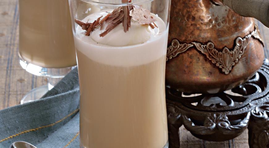 Рецепт Молочный кофе глясе