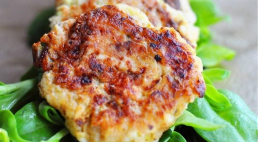 Рецепт Кабачково-сырные оладьи