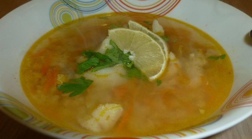 Рыбный суп с чечевицей рецепт с фото