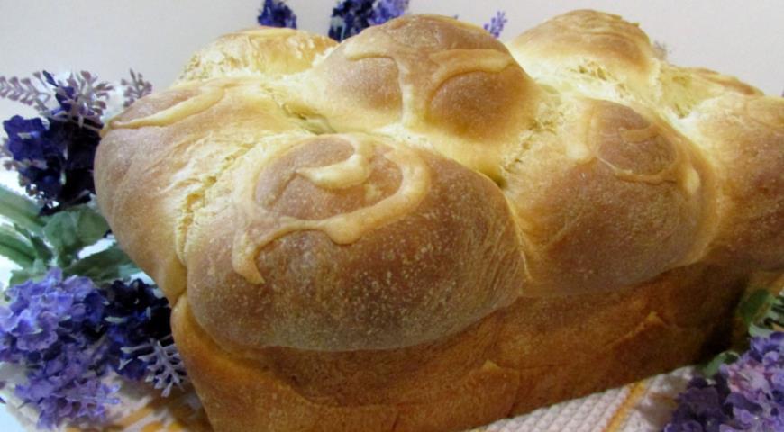 Рецепт Сдобный хлеб с узором