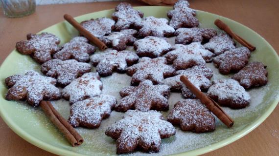 Овсяно-имбирное печенье