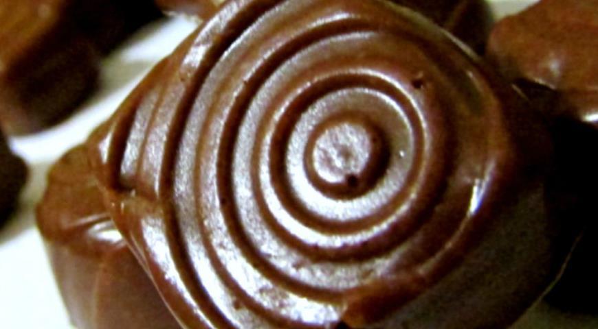 Рецепт Шоколадно-желейные конфетки