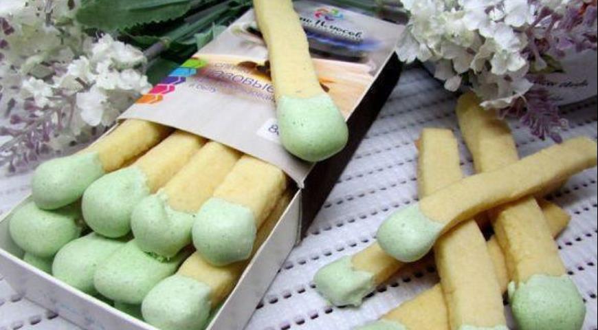 Рецепт Песочное печенье Спички