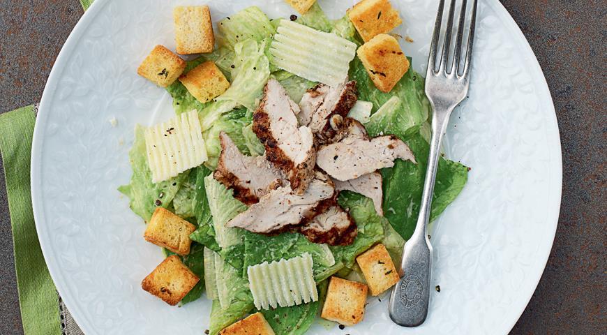 салат цезарь рецепт повара константина жука.