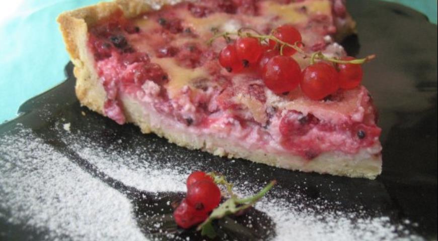 Рецепт Тарт с красной смородиной Ягодные мечты