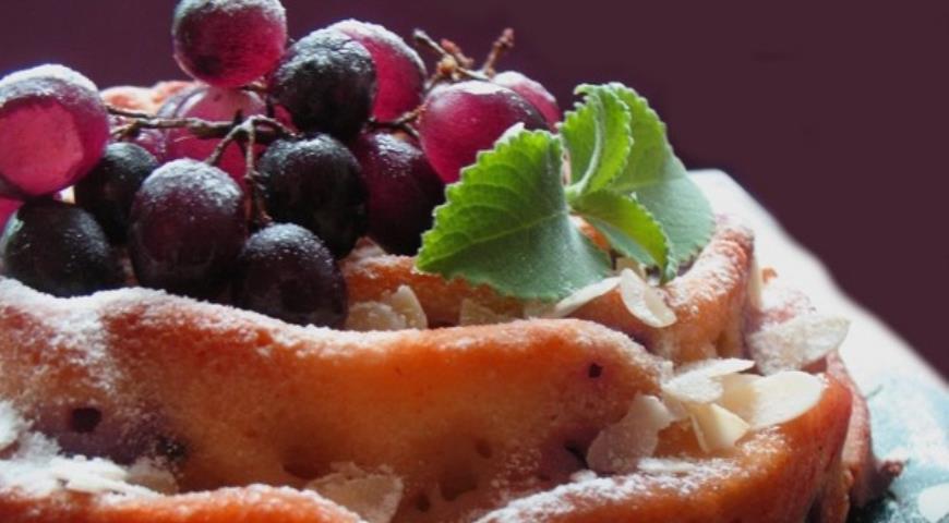 Рецепт Пирог виноградный