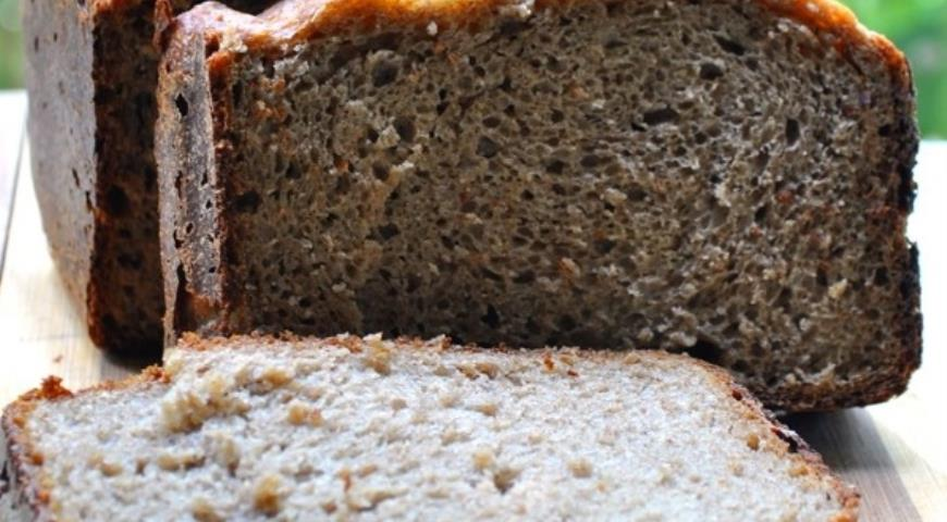 Рецепт Хлеб ржаной с горчицей и овсяными хлопьями