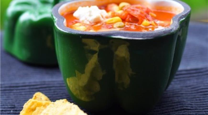 Рецепт Мексиканский овощной суп