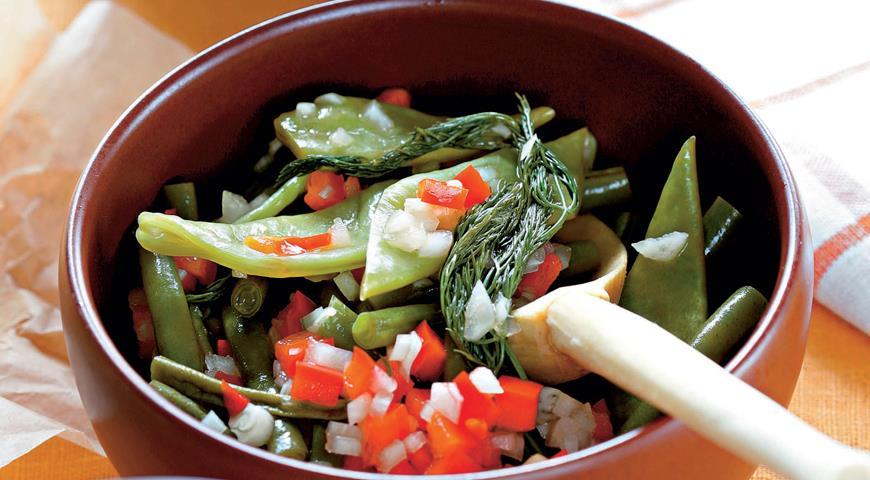 Рецепт Зеленая фасоль в маринаде