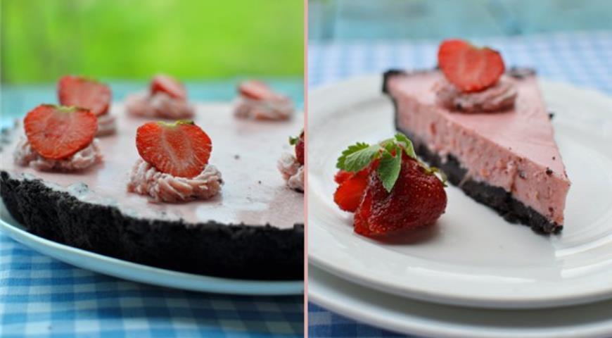 Рецепт Клубничный тарт с маскарпоне