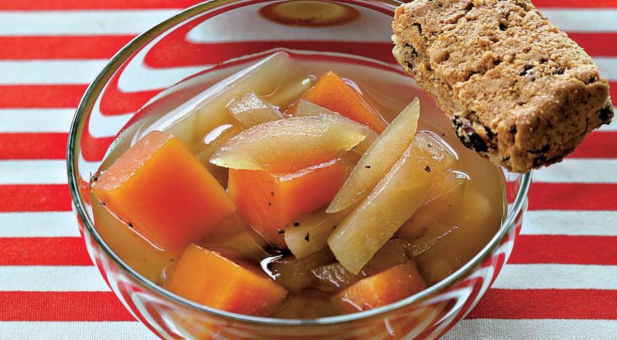Рецепт Австрийский тыквенно-яблочный компот с гвоздикой