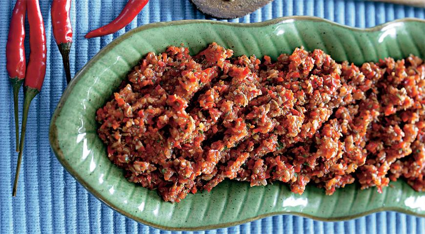 Рецепт Тайская красная паста карри