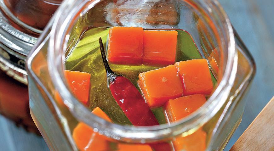 Рецепт Острая морковь в масле