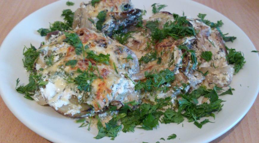 Рецепт Карп с картофелем и кабачками в сметане