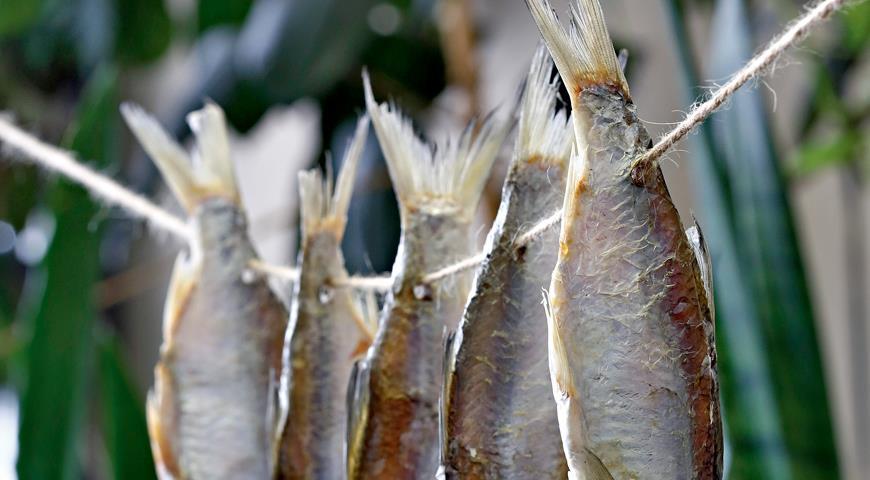 Рецепт Вяленая рыба