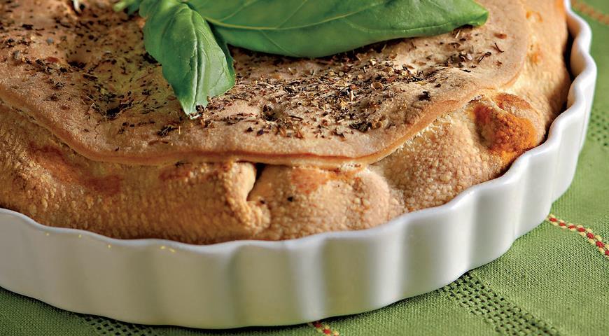 Рецепт Пирог с мясным рагу мурседду