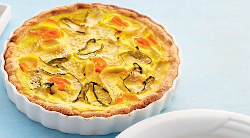 Рецепт Круговой пирог с овощами