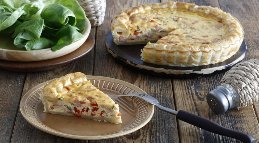 Рецепт Овощной пирог