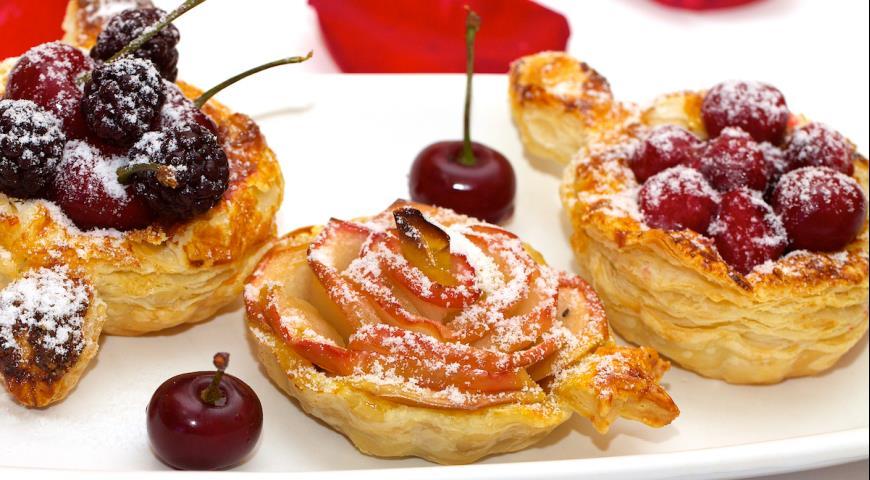 Рецепт Фруктово-ягодный десерт