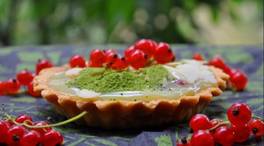 Рецепт Корзиночки с ягодами и кремом из белого шоколада