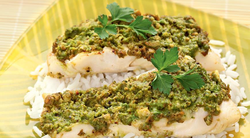 Рецепт Рыба в тайском стиле