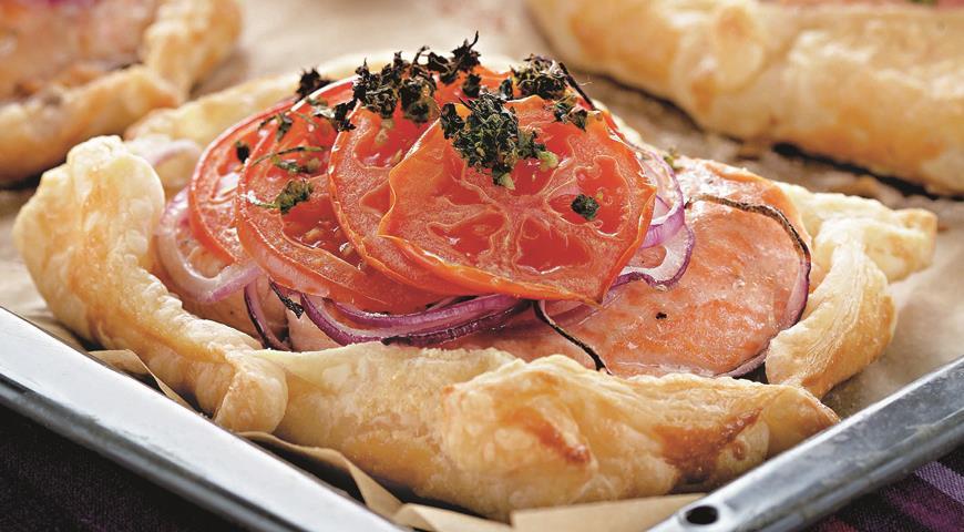 Рецепт Рыба с овощами в тесте