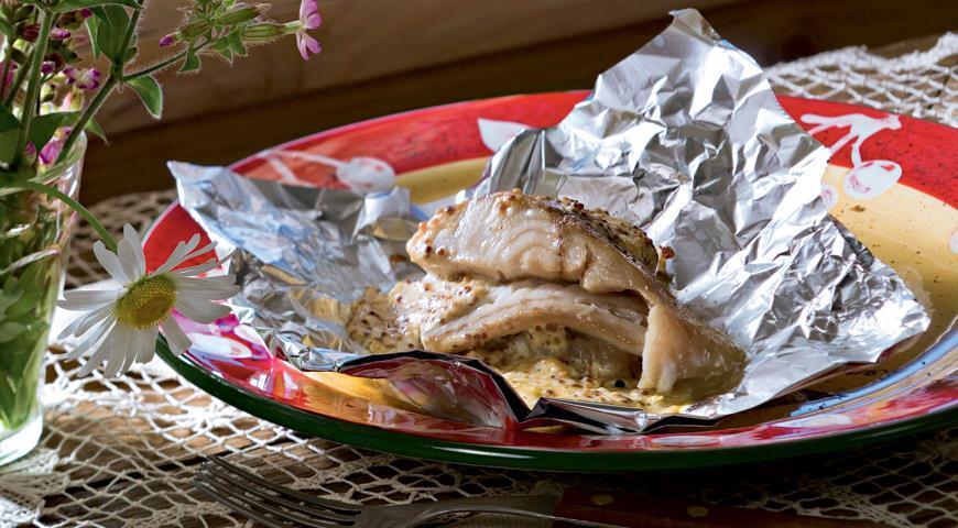 Рецепт Филе щуки с сыром и горчицей