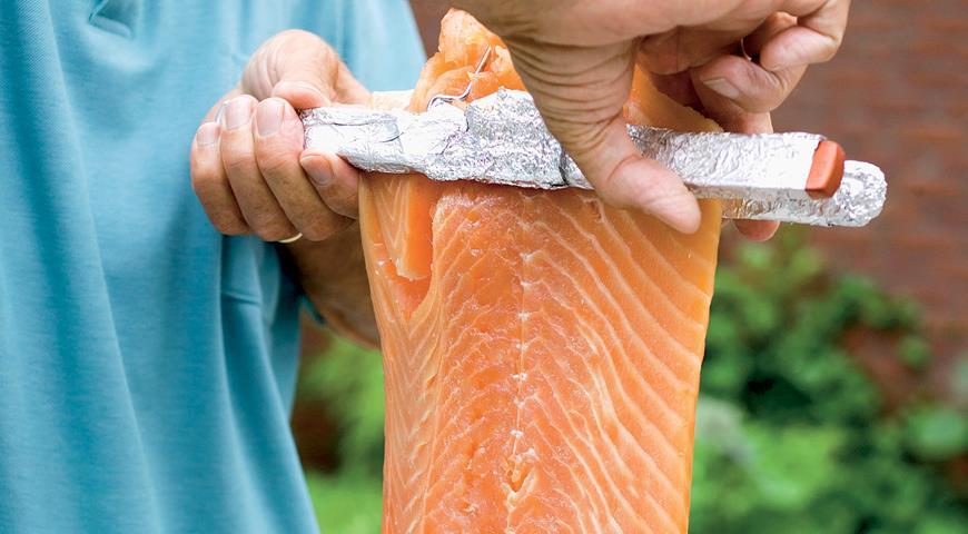 Рецепт Разделка красной рыбы