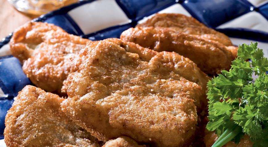 Рецепт Рыба в пивном кляре