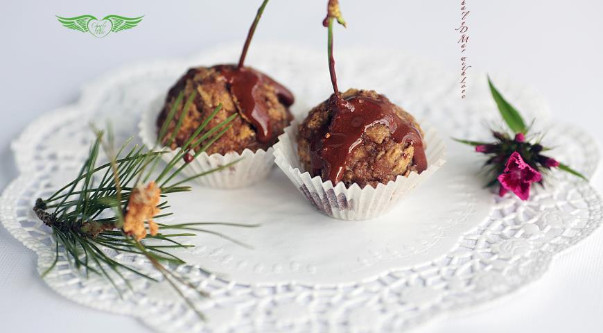 Рецепт Вишневые орешки или как приготовить быстро и просто полезные конфетки по - домашнему
