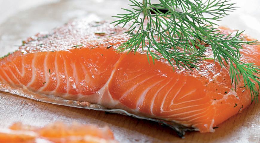 Рецепт Малосольный лосось