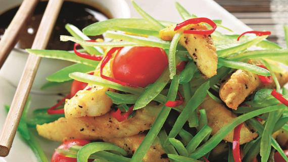 Рыба в азиатском стиле со свежим перцем, пошаговый рецепт с фото