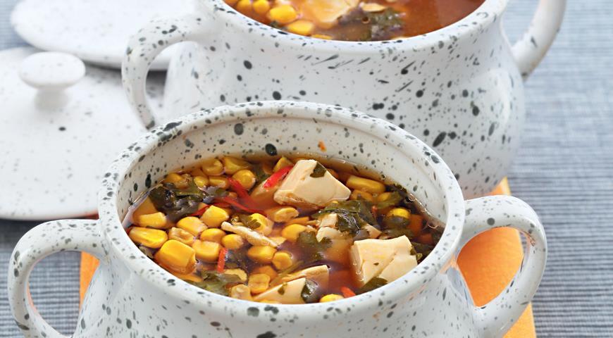 Рецепт Японский суп в горшке