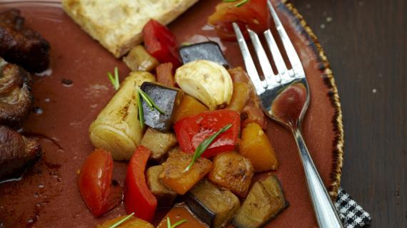 Быстрый рататуй, пошаговый рецепт с фото