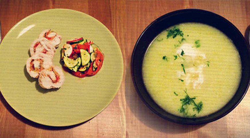 приготовление лёгкого супа