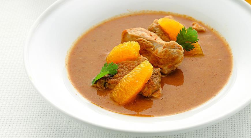 Рецепт Легкий суп из цесарки по-каталонски